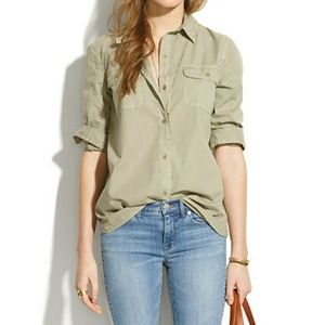 Madewell Tops - Madewell Tomboy Workshirt